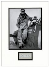 Douglas Bader Autograph Signed Display